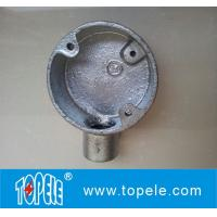 "Wholesale 3/4"" Malleable Iron Electrical Circular Junction Boxes from china suppliers"