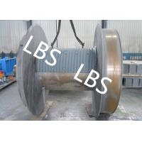 Wholesale Steel Q345 Q420 Smooth Winch Drum 3mm - 190mm Wire Rope Diameter from china suppliers