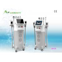 Wholesale Medical CE 12 inch Cellulite Removal Cryolipolysis Slimming Machine With 5 Heads from china suppliers