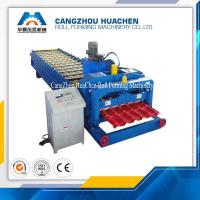 Wholesale PLC Control Glazed Tile Roll Forming Machine / Roof Tile Roll Forming Machine For Modern Villas from china suppliers