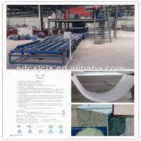 Wholesale Moisture Resistant Magnesium Oxide Board Production Line With Double Working Station from china suppliers