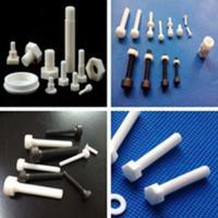 Quality High Temperature Resistant Machining Ceramic Parts Zirconia Components Screw for sale