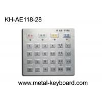 Wholesale Dust proof Panel Pounting Metal Access Control Keyboard with 28 Keys from china suppliers