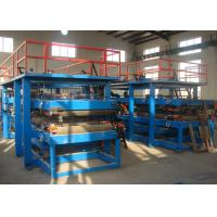 Wholesale 32kw Colorful Steel Sandwich Panel Roll Forming Machine Production Line from china suppliers