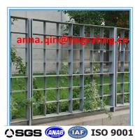Quality china Security metal grating Fence with flat steel for sale