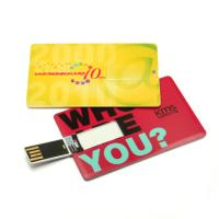 Wholesale Slim Pen Drive Card USB Flash Memory 1GB 2GB 4GB 8GB Promotional from china suppliers