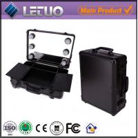 Wholesale makeup case with lighted mirror cosmetic case makeup case with lights from china suppliers