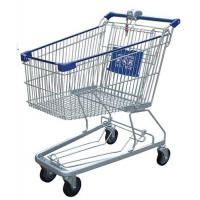 Wholesale Multi - Function Wire Shopping Carts USA Type Coin Locked Metal Shopping Basket from china suppliers
