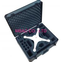 Wholesale Gray Aluminum Tool Cases/ ABS Carrying Case With Foam For Packing Tool from china suppliers