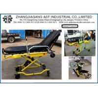 Hospital Steel Ambulance Stretcher Light weight with button Control