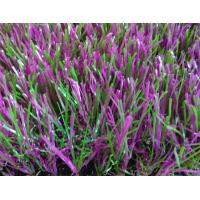 Wholesale Violet / Green 35mm Home Artificial Grass , Garden Decoraion Artificial Turf from china suppliers