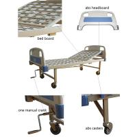 Hospital Equipment Bed Back Lift Simple One Crank ABS Manual Bed