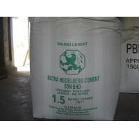 Wholesale Tubular Type A big 2 Ton Bulk Bags Jumbo bag with PE liner Cement bulk bags from china suppliers