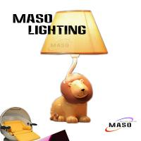 Wholesale MASO Cute Cartoon Animal Table Lamp Lion Stand for Child Study room, bedroom MS-T3018 from china suppliers