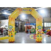 Wholesale Full Color Digital Printing Advertising Small Display Inflatables Inflatable Arch from china suppliers