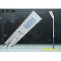 Wholesale High Lumens Solar Lighting System All In One Integrated Solar LED Street Light from china suppliers