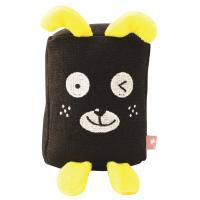 Wholesale Stuffed Linen Animals Washable Dog Toys With Squeaker Eco-friendly from china suppliers