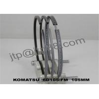 Wholesale Stainless Steel Piston Rings 6D125 / Small Piston Rings 6137-31-2040 from china suppliers