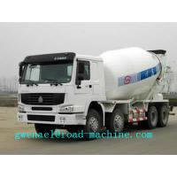 Wholesale SINOTRUK HOWO 8 x 4 Concrete Mixer Trucks Concrete Mixing Equipment 371HP 10cbm 8x4 with Euro2 Euro3 from china suppliers