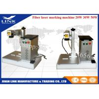 Wholesale Raycus IPG 20W 30W 50W portable laser marking machine , fiber laser marking machine from china suppliers