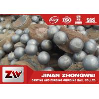 Wholesale Wear resistant high chromium Cast Iron Balls for Cement building materials from china suppliers