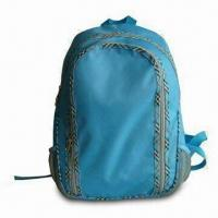 Wholesale Daypack/Backpack, Made of 600 x 300D Polyester with Plaid Cloth from china suppliers
