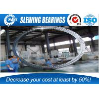 Wholesale Slewing Bearing Large Diameter Steel Rings With Four Point Single Row from china suppliers
