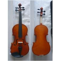 Wholesale Spruce Top Handmade Violin Maple Back Left Size 4/4 3/4 1/2 1/4 1/8 from china suppliers
