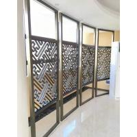 Wholesale Interior decorative laser cutting stainless steel screen partition from china suppliers