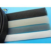 Wholesale Polyster Monafilament PET Braided Expandable Cable Protection Sleeves from china suppliers