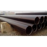 Wholesale Electric Industrial API 5L ERW Carbon Steel Pipe OD 60mm - 820 mm , STPG370 Pipe from china suppliers