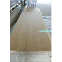 Buy cheap Bamboo solid wood panel finger jionted worktops countertops table tops butcher block tops kitchen tops from wholesalers