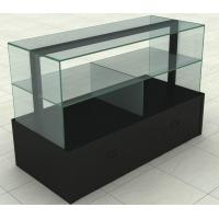 "Quality Customized MDF "" Recycled wood "" Jewelry MDF Display Stands With Glass Or Acrylic for sale"