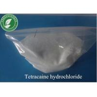 Wholesale Topical Anesthetic Powder Tetracaine Hydrochloride For Anti-Paining CAS136-47-0 from china suppliers