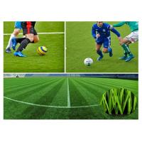 Wholesale Polyethy Fiber Fire Resistant Outdoor Artificial Grass 50mm For Football Pitch from china suppliers