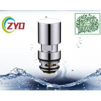 Buy cheap Universal Handheld Brass Chrome Shower Mixer Diverter Ceramic Cartridge Shower Diverter Faucet Valves Accessory from wholesalers