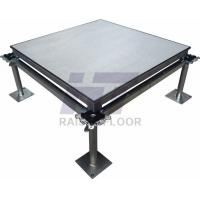 Wholesale Waterproof Aluminium Portable Raised Floor , Anti - Magnetic Raised Access Flooring from china suppliers