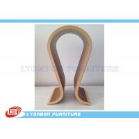 Wholesale SGS ODM Curved Wood Countertop Display For Shopping Mall , Painted Surface from china suppliers