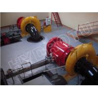 Wholesale 400KW Small Horizontal Shaft Francis Hydro Turbine , Francis Water Turbine Generator from china suppliers