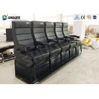 Wholesale Environmental Motion Chair 4D Cinema Equipment With Metal Flat Screen from china suppliers