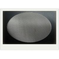 Wholesale Round SS Sintered Wire Mesh Filter With Round Filter Disc 2-2300 Mesh / Inch from china suppliers
