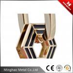 33.42*52.54mm Light gold metal buckle for handbag,customized bag buckle