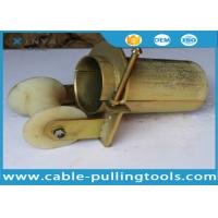 Wholesale Bell Mouth Cable Roller for Pulling 100mm Cable With Nylon Wheel from china suppliers