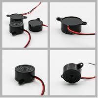 Wholesale Black 6V DC Piezo Wire Active Buzzer Sound 88 dB 23x12MM from china suppliers