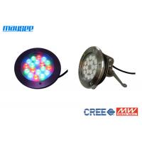 Wholesale 54 Watt Submersible Rgb Led Pool Light Color Changing By Dmx Control from china suppliers