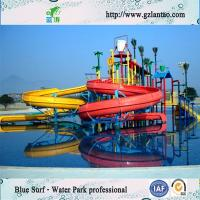 Wholesale Water House With Spiral Water Slide Water Park Equipments , Water Spray Park Equipments from china suppliers