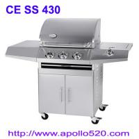 Wholesale Commercial and Family Use 3 Burners Stainless Steel Gas Grill from china suppliers