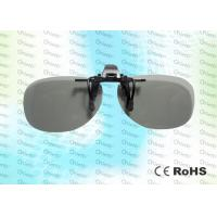 Wholesale REALD Anti-scratch, clip on, Circular polarized 3D film glasses from china suppliers
