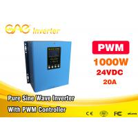 Wholesale Pure Sine Wave Solar Powered Inverter 1000w 12v 24v To 110v 220v PWM Controller from china suppliers