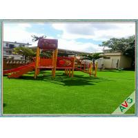 Wholesale 35  MM Height Easy Maintenance Outdoor Artificial Grass For Kids Amusement Park from china suppliers